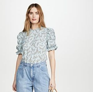 🌼 Moon River ruched sleeve top